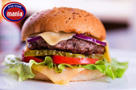Гамбургер от Мании — новый вкус, новое настроение!